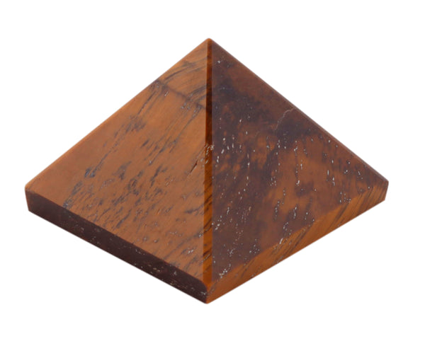 Tiger Eye Pyramid 1 Inches