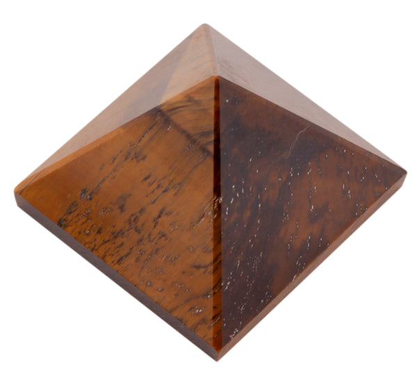 Tiger Eye Pyramid 2 Inches