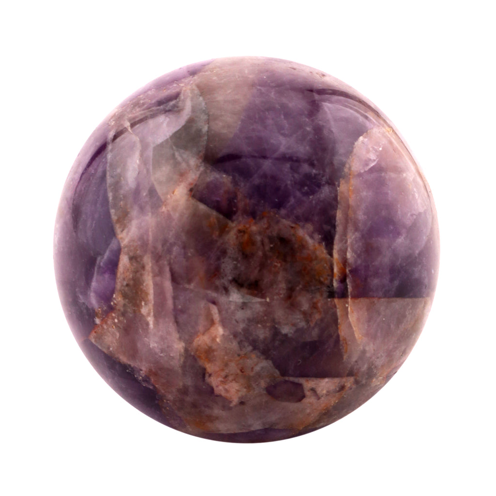 Natural Gemstone Hand Carved Metaphysical Healing Crystal Polished Sphere Amethyst 40-50 MM