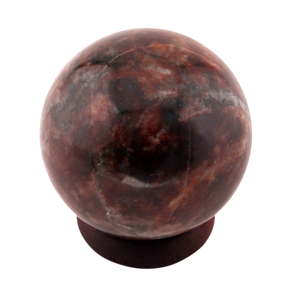 GARNET Sphere Gemstone Sphere, Polished Crystal Ball, Healing Stone, Garnet Crystal Sphere 40-45 mm