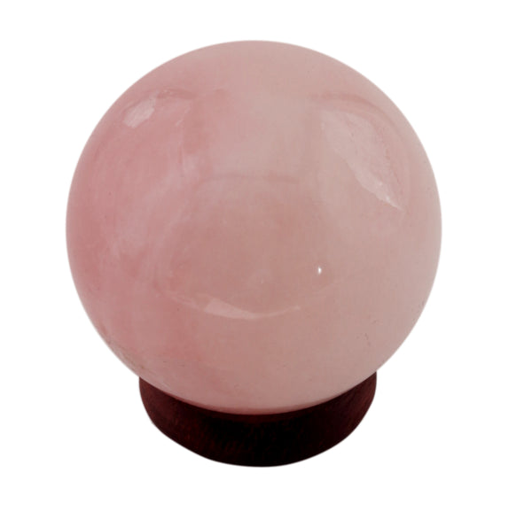 Rose Quartz Sphere 40-50 MM