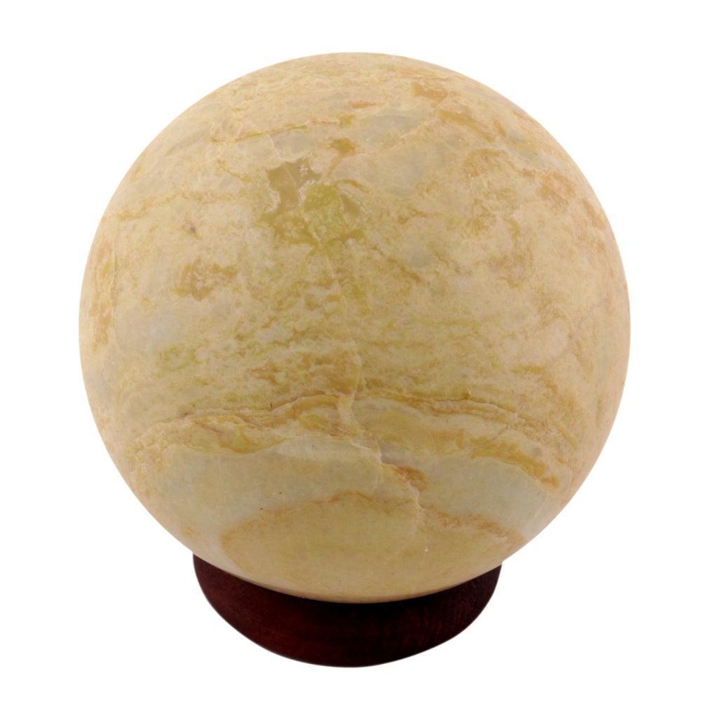 Serpentine Crystal Sphere Ball Metaphysical Healing Mineral Chakra Aura Balance Stone 55-65 mm