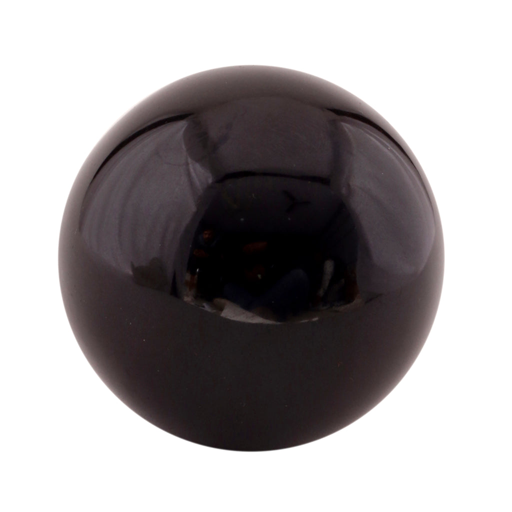 Black Tourmaline Crystal Sphere Ball Metaphysical Healing Mineral Chakra Aura Balance Stone 55-60 mm