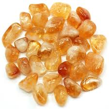 Citrine Tumbled Stone-10 Pieces