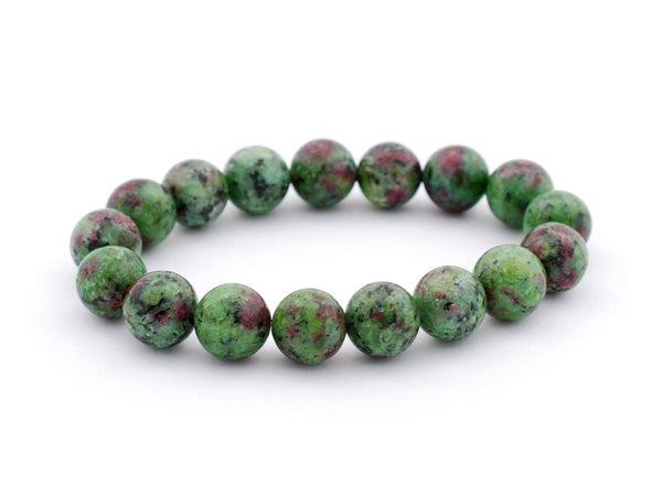 Ruby Zoisite Bracelet 8 mm