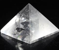 Healing Crystals | Chakra Balancing | Meditation Stone | Clear Quartz Pyramid 25-30 MM