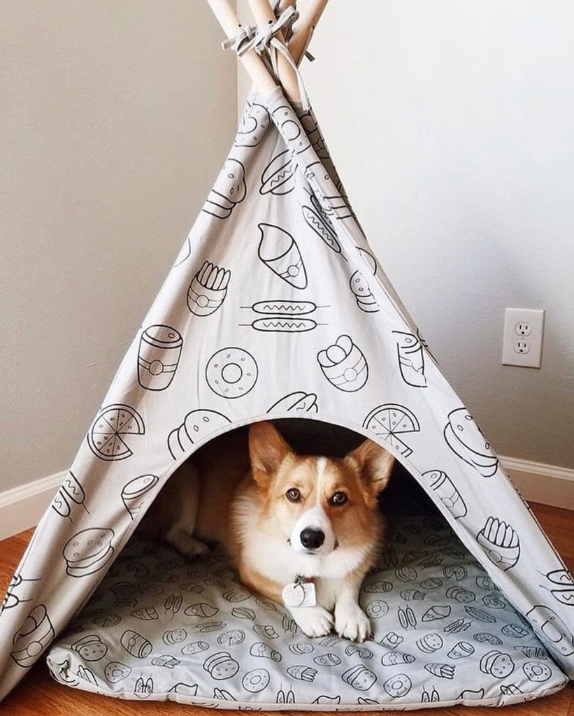 Food Dog Teepee