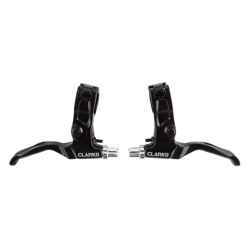 Clarks V-/Mech Disc MTB Brake Lever Set - Black- Pair
