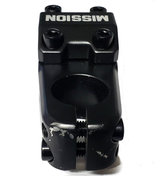 *BLEM* Mission Control TL BMX Threadless Stem - Black - 50mm - Top Load