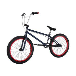 "2021 Fit Series 22 - 22"" Complete BMX Bike - 21.125""TT - Navy Blue"