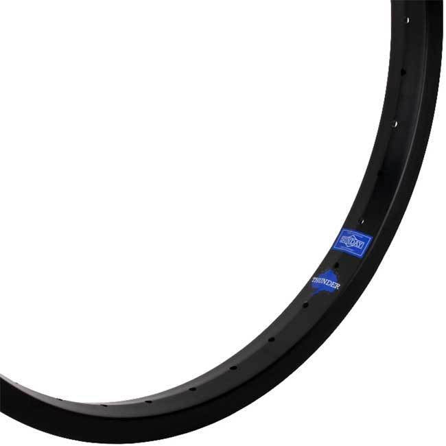 "20"" (406mm) Sunday Thunder Double Wall BMX Rim - 36H - Black"