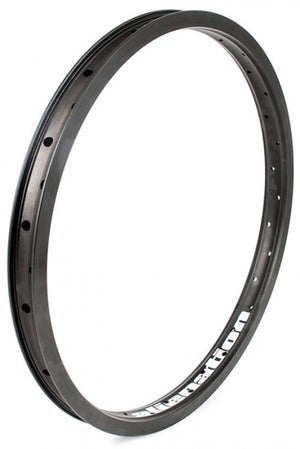 "20"" (406mm) Alienation Runaway BMX Rim - Aluminum - Double Wall - 36h - Black"