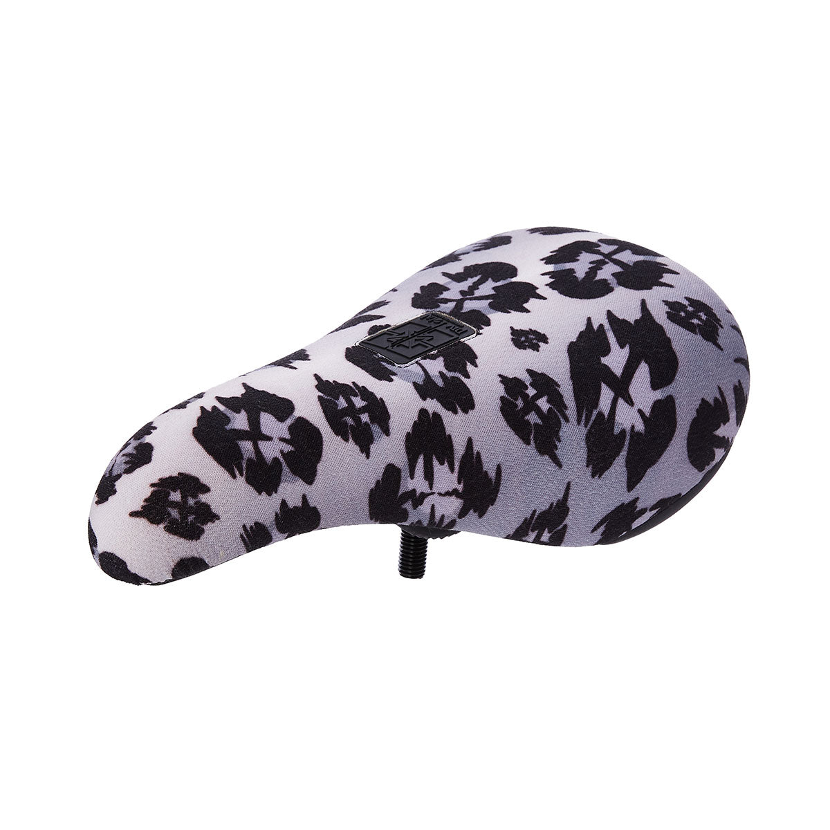 Fit Bike Co Barstool Padded Pivotal BMX Seat - Snow Leopard