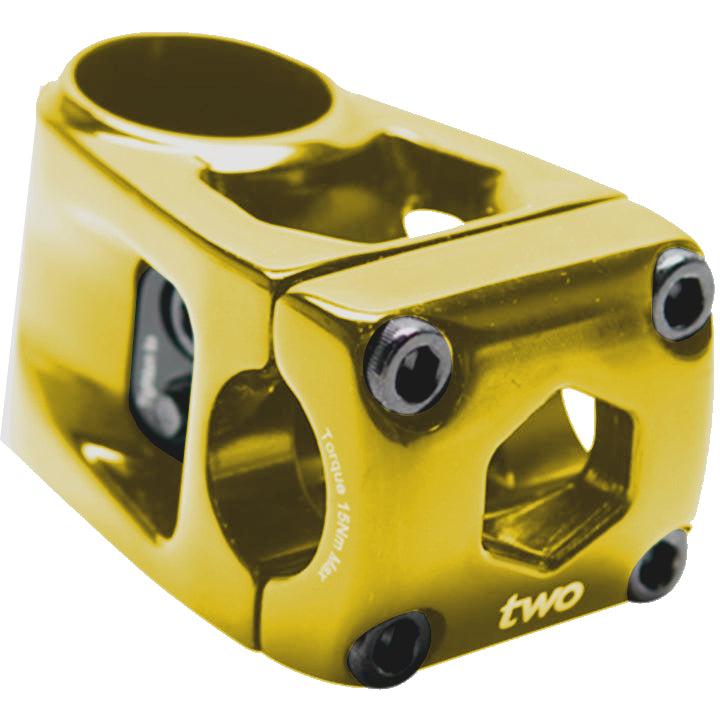 Box Two Center BMX Threadless Stem - 53mm - Gold