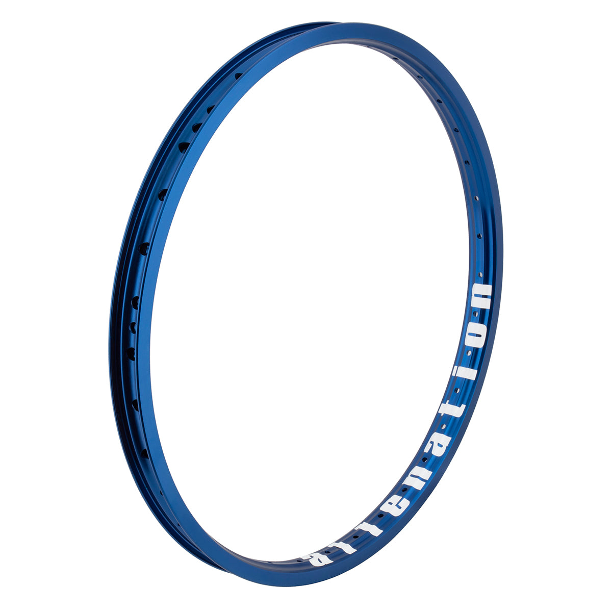 "20"" (406mm) Alienation Malice G69 TSC Rear BMX Rim - Aluminum - Double Wall - 36h - Dark Blue"