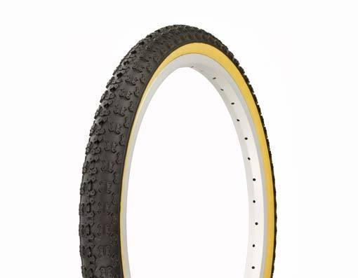 "BICYCLE TIRES 20/"" X 1.75/"" 20X1.75 BLACK  gum wall Comp III style tread 1 PAIR"