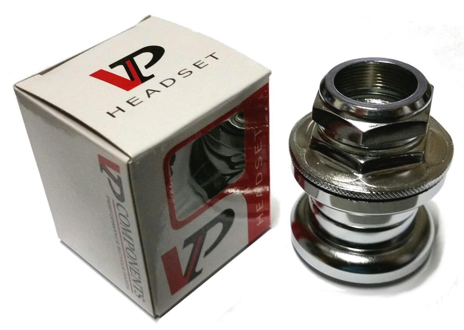 "VP 1"" Threaded BMX Headset - 26.4mm race - Chrome"