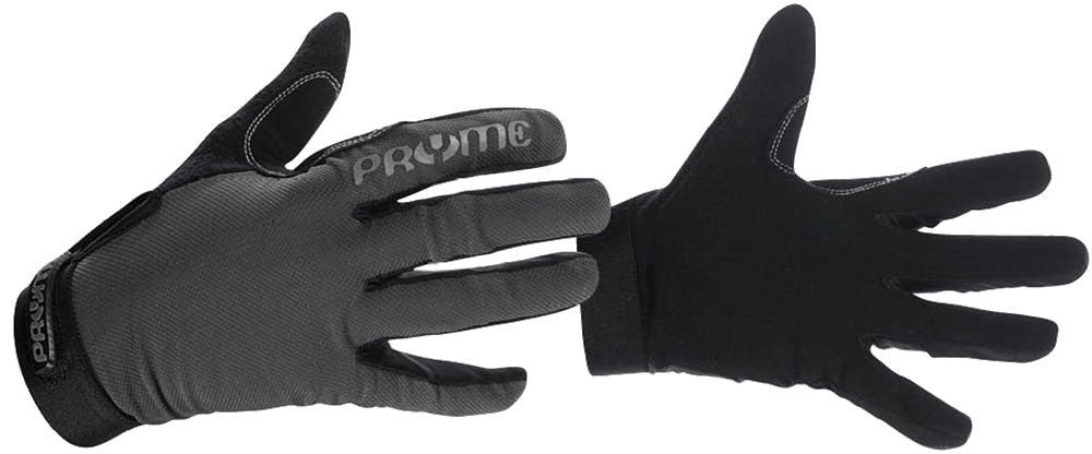 Pryme Trail Hands Gloves Size 8 Adult Small Gray BMX