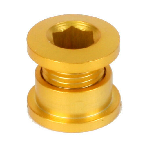 Origin8 Alloy Single Chainring Bolts - Gold - 5-bolts