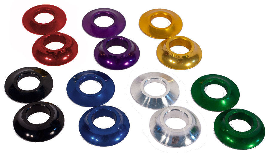 Profile Mid//American 19mm Cone Spacers Purple USA MADE