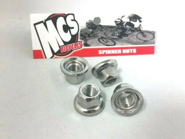 """Neptune Stepped 14mm to 3//8/"""" Axle Adapter f// BMX bikes Set of 2 USA Made"""