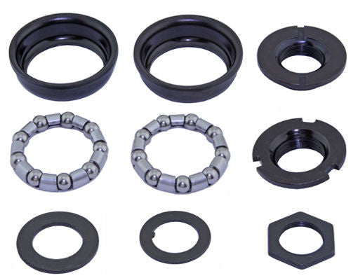 American Bottom Bracket f/ One Piece Crank - 24tpi - Black