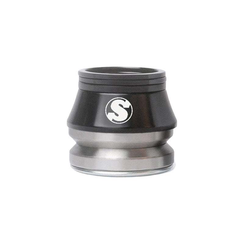"Sunday BMX 1-1/8"" Conical Integrated BMX Headset for 45/45 - Black"