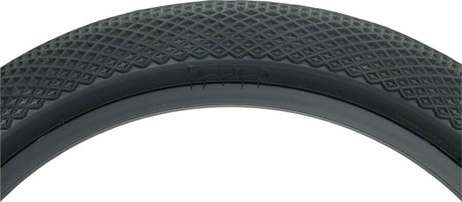 18x2.30 Cult BMX Vans Tire - All Black - 65psi