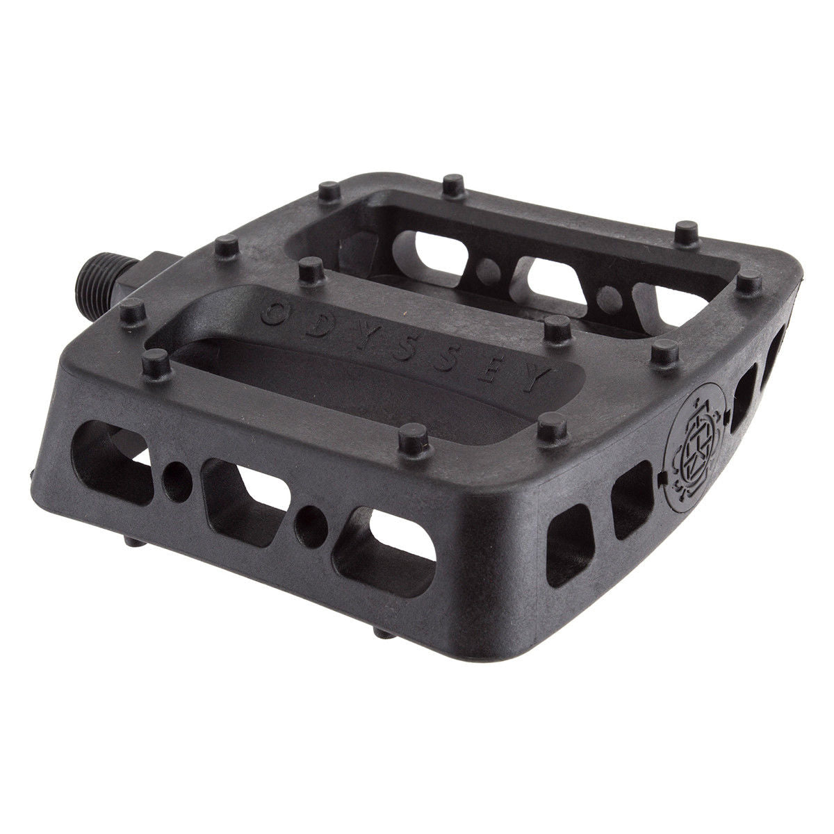 Odyssey Twisted PC PRO BMX Platform Pedals - Black - 9/16""