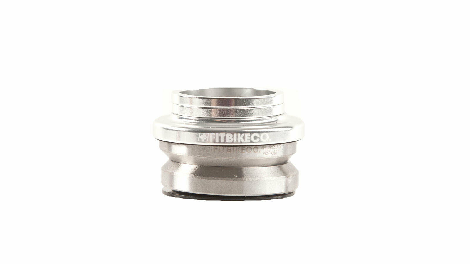 "Fit BMX 1 1/8"" Integrated BMX Headset for 45/45 - Polished"
