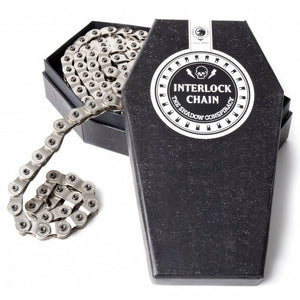 Shadow Conspiracy Interlock V2 Chain - 1/2 x 1/8 - Half-link - Chrome
