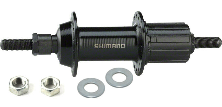 Shimano TX500 8-speed Rear Hub Black - 32h - 10mm nutted axle