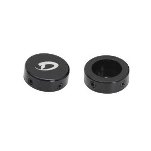 Diamondback Aluminum BMX Bar End Caps Black