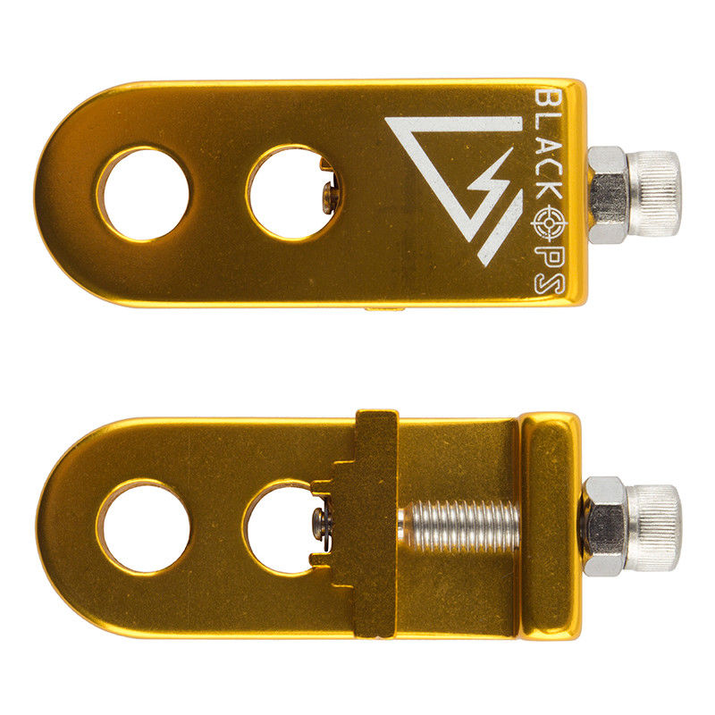 BIKE CHAIN TENSIONER SE RACING - AXLE PAIR- GOLD 10MM 3//8