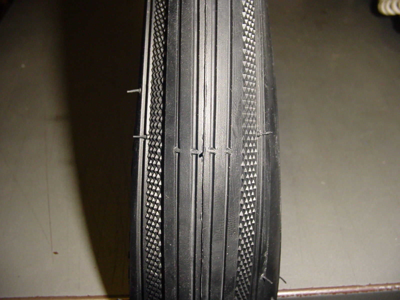 "TWO 26X2X1/&3//4/""TIRES,TUBULAR S-7 WHITEWALL BRICK PATTERN,VINTAGE SCHWINN CRUISER"