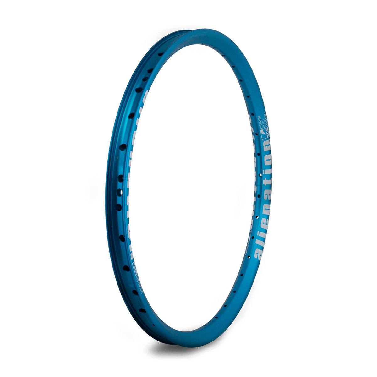 "20"" (406mm) Alienation Mischief G69 TSC Front BMX Rim - Aluminum - Double Wall - 36h - Teal Blue"