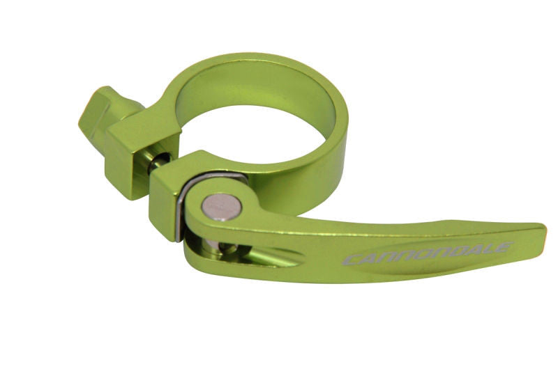 "Cannondale Quick Release Seat Post Clamp 1 1/4"" 31.8mm Light Green"