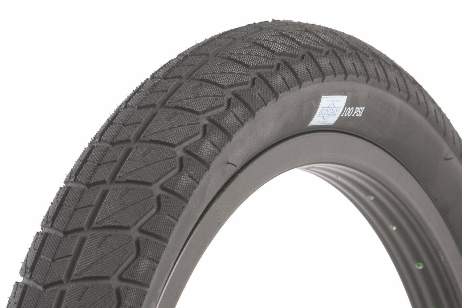 20x2.25 Sunday BMX Current Tire - 100 psi - All Black