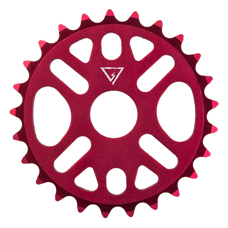 BlackOps 25t Micro Drive II BMX Sprocket / Chainwheel - Red