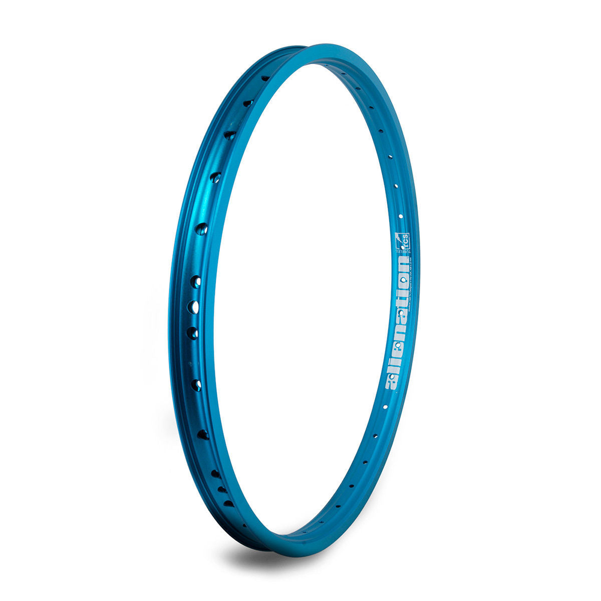 "20"" (406mm) Alienation Malice G69 TSC Rear BMX Rim - Double Wall - 36h - Teal Blue"