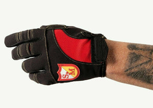 S&M / Biltwell Shield Moto Gloves - Size 8 / Adult Small