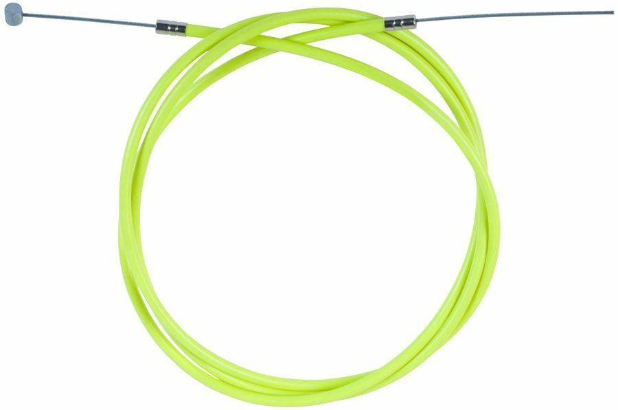 Odyssey Linear Slic Brake Cable - Fluorescent Yellow