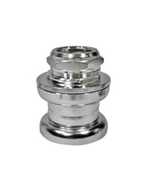 "Tange MX-2 BMX 1"" Threaded Headset w/ Stamped Top Nut - Chrome - Made in Japan"