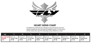 Fly Default Full Face BMX / DH Helmet - sz Youth S - Matte White & Black