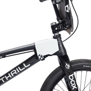 Box Two BMX Side Number Plate - Black/White