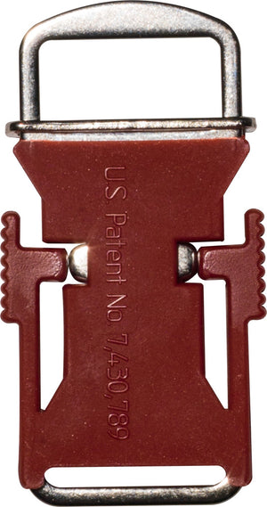 Echo Quick Release Helmet Buckle - Red - USA Made