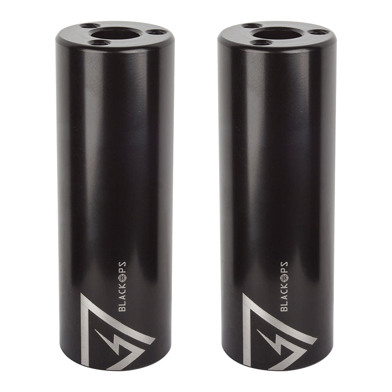 "BlackOps Brinck Axle pegs (pair) - 14mm or 3/8"" - Black"