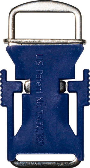 Echo Quick Release Helmet Buckle - Blue - USA Made