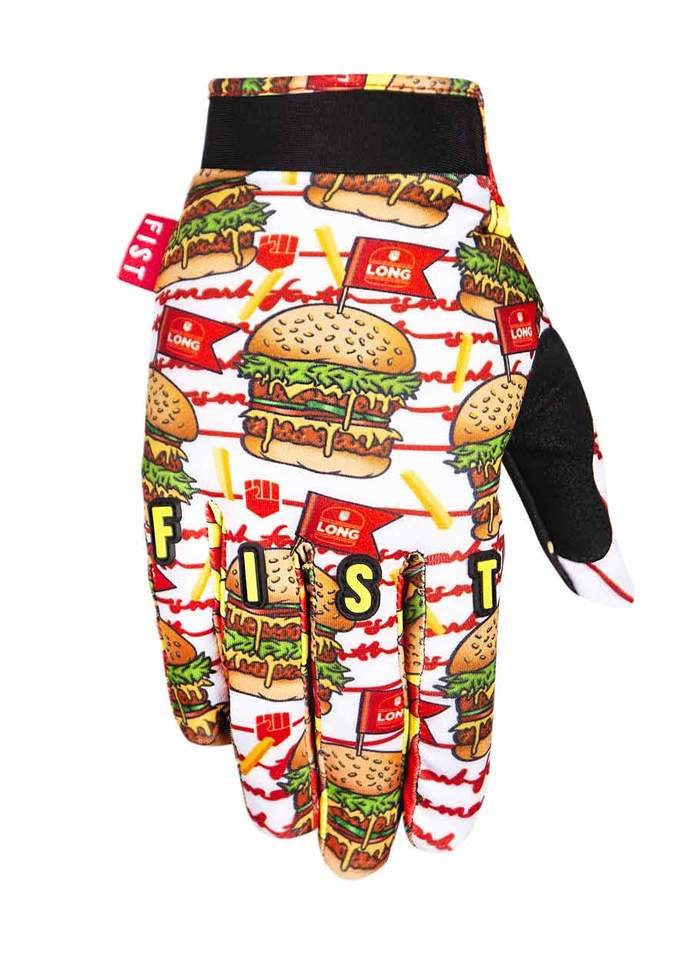 Fist Burgers Gloves - Size 8 / Adult S - Dylan Long