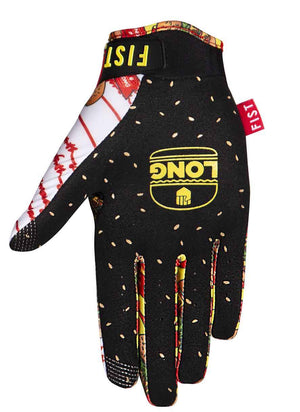 Fist Burgers Gloves - Size 10 / Adult L - Dylan Long